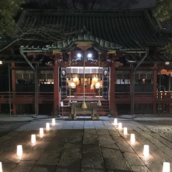 赤坂氷川神社の「夜桜参り」に行ってみた