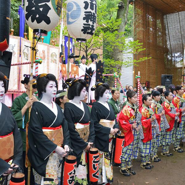 赤坂氷川祭の「神幸祭」に行ってみた