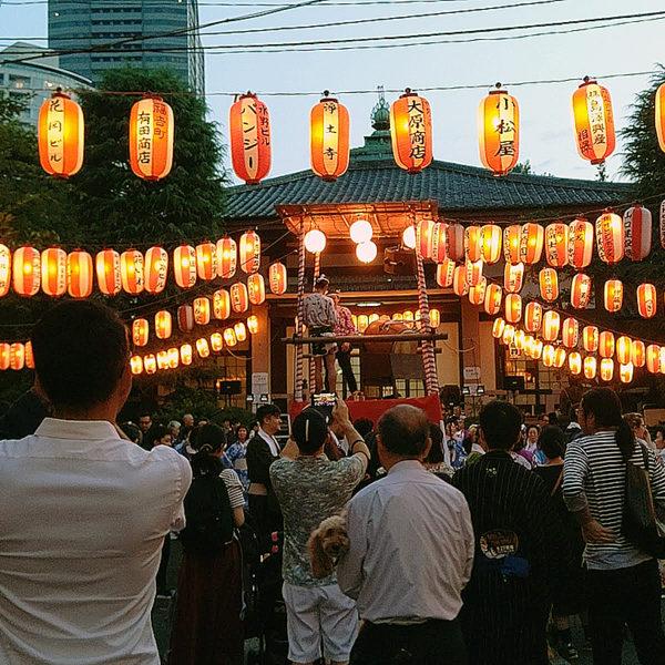 浄土寺の「浄土寺盆踊り大会」に行ってみた