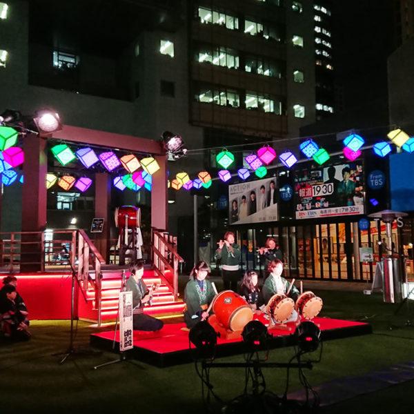 TBS赤坂サカス「赤坂冬祭」に行ってみた